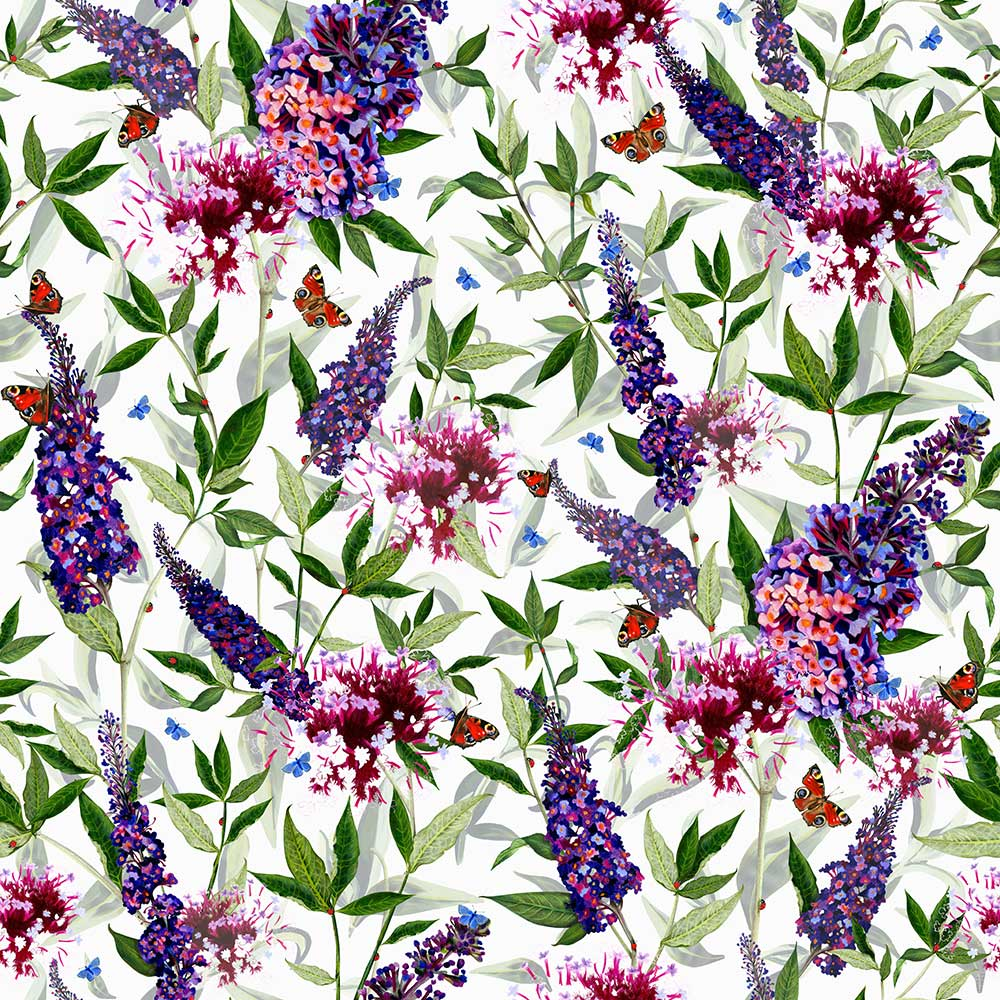 Isabelle Boxall Buddleia Wallpaper - Product code: IB5003