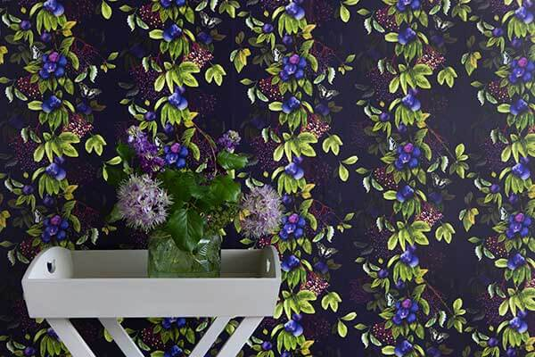 Isabelle Boxall Damson Nightshade Wallpaper - Product code: IB5007
