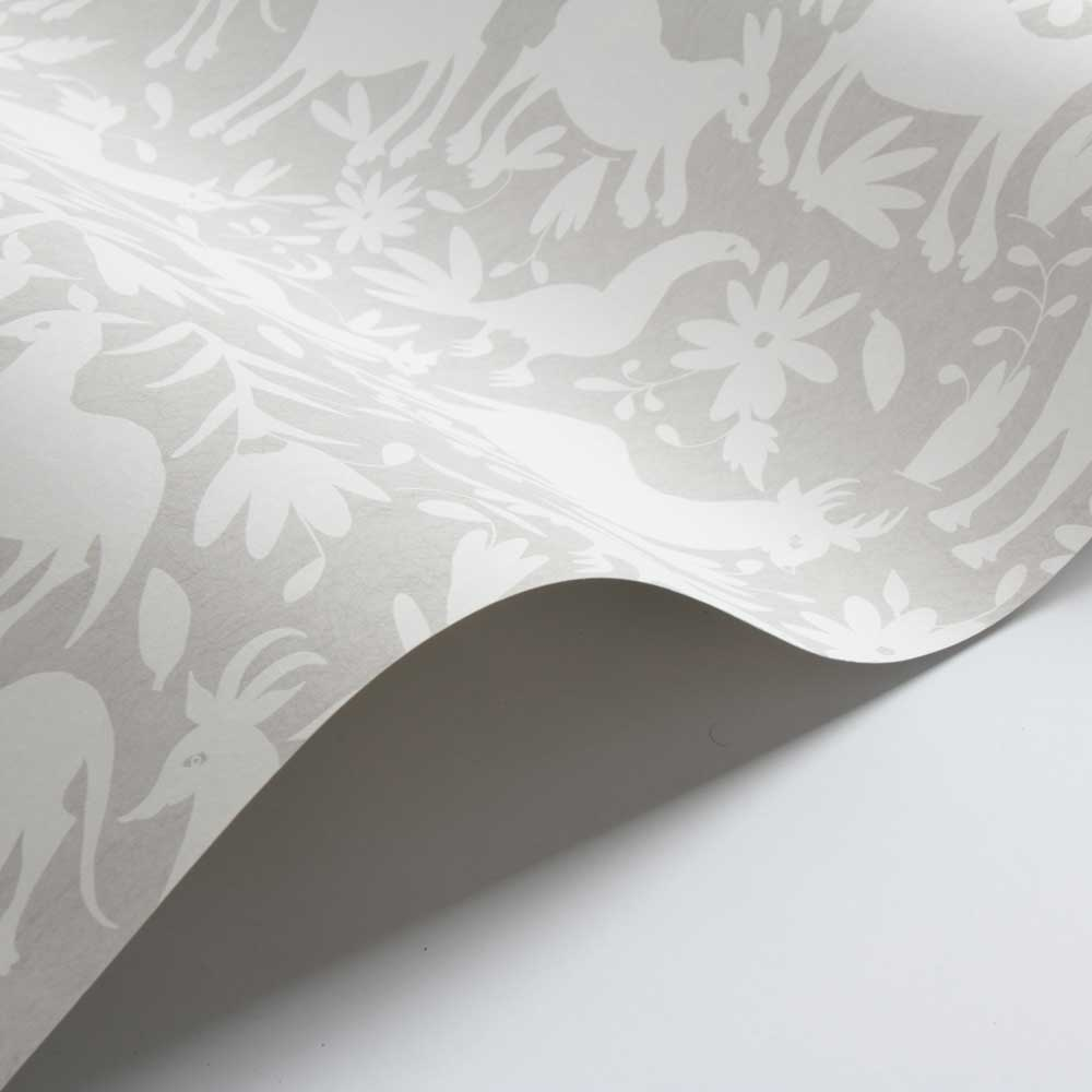 Otomi Wallpaper - Dove - by Andrew Martin