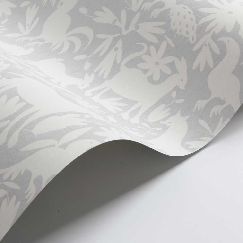 Otomi Wallpaper - Powder - by Andrew Martin