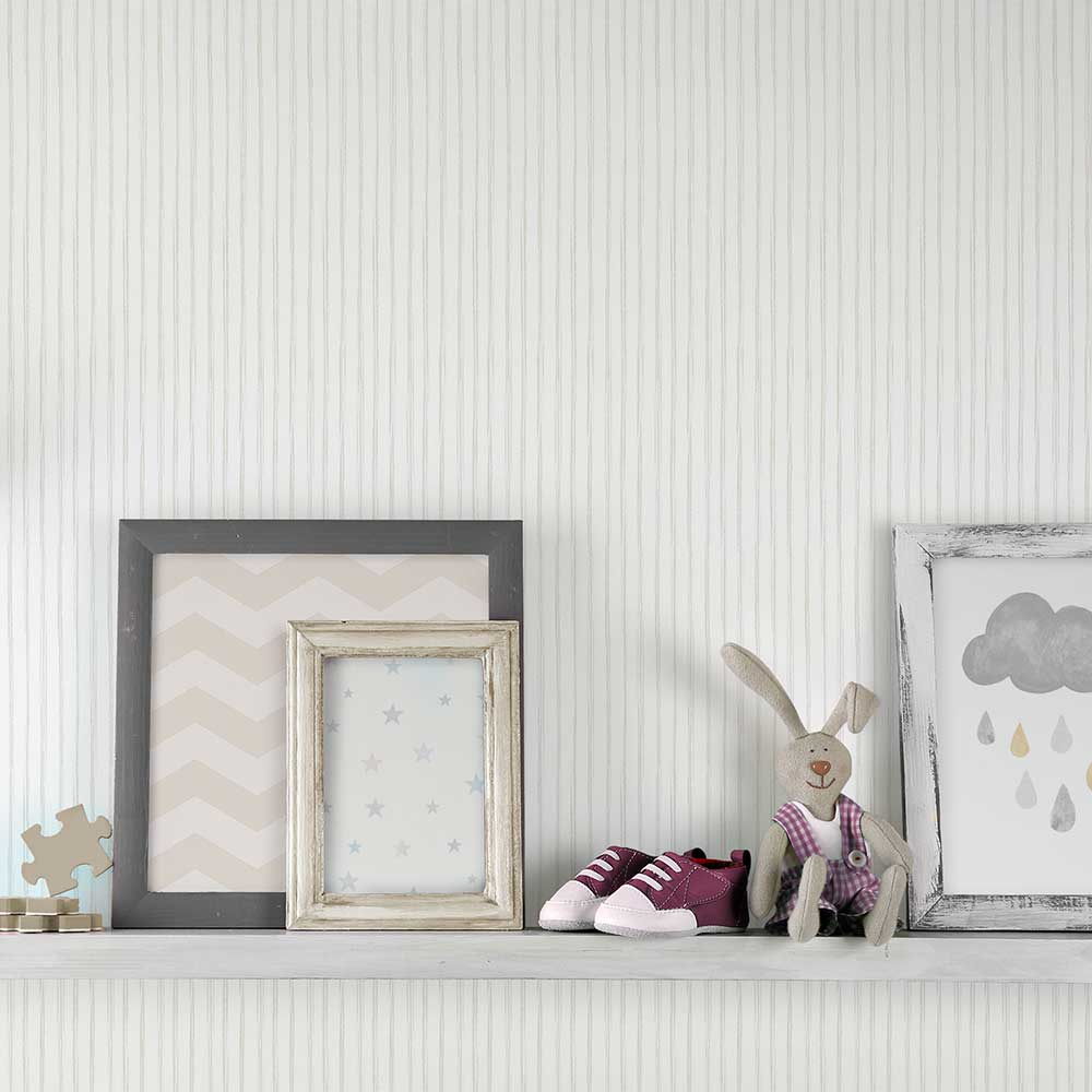 Grandeco Stripes Brown Wallpaper - Product code: LO3001