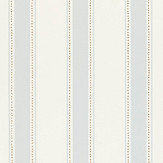 Sandberg Gustav Muted Blue / Gold Wallpaper - Product code: 101-16