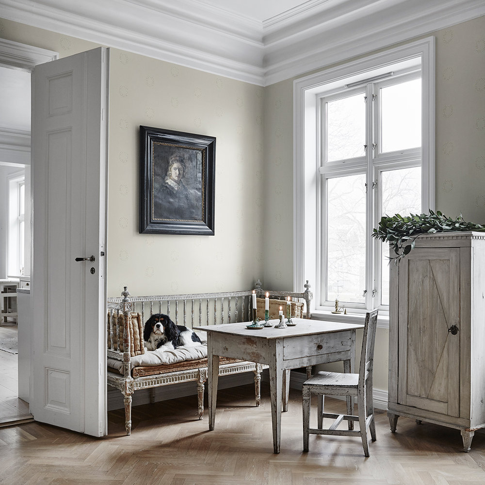 Sandberg Karl Grey / Black Wallpaper - Product code: 102-21