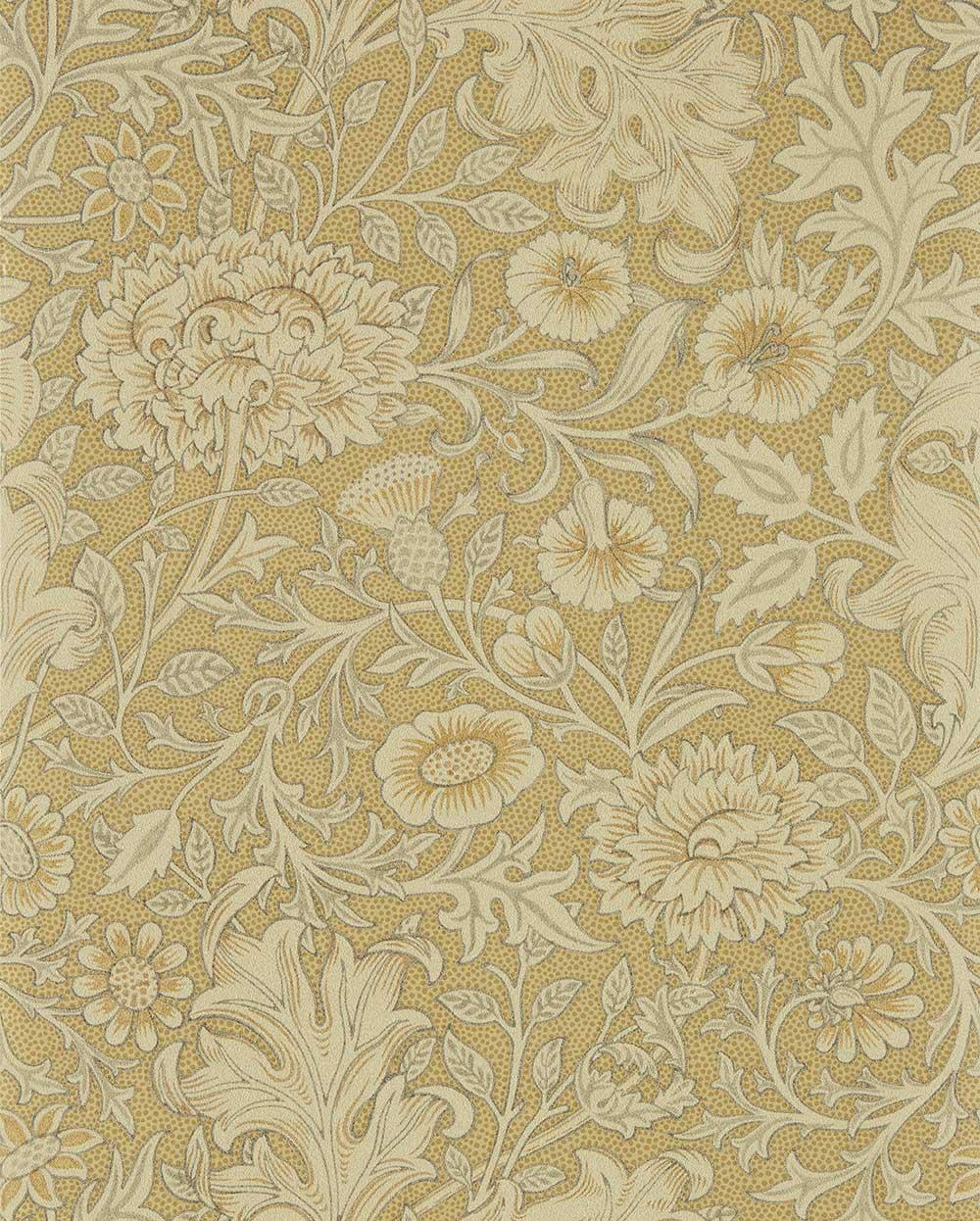 Morris Double Bough Antique Gold Wallpaper - Product code: 216681