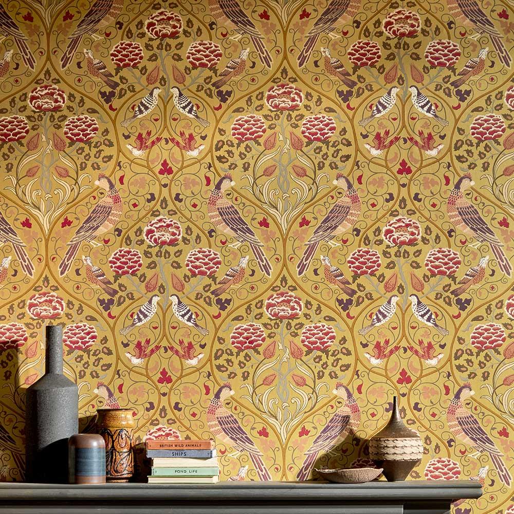 Morris Seasons by May Saffron Wallpaper - Product code: 216685