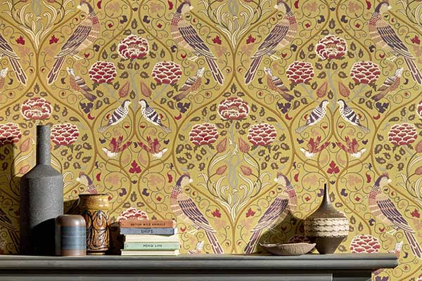 Morris Seasons by May Saffron Wallpaper - Product code: 216685