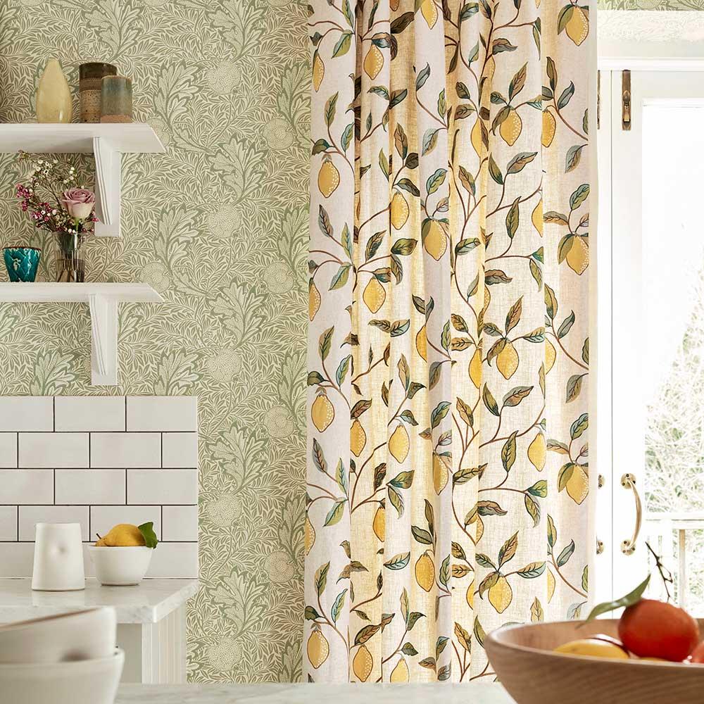 Apple Wallpaper - Leaf - by Morris
