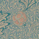 Morris Apple Indigo Antique Wallpaper - Product code: 216690