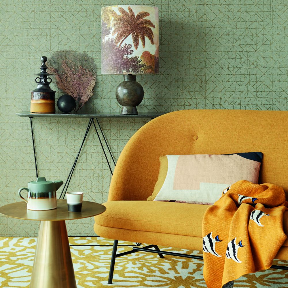 Eijffinger Graphic Oat Wallpaper - Product code: 394532