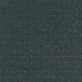 Eijffinger Graphic Teal Wallpaper - Product code: 394536