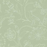 Morris Middlemore Sage Green Wallpaper - Product code: 216694