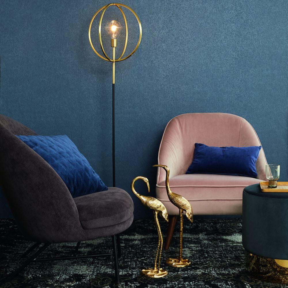 Sequin Wallpaper - Blue - by Eijffinger