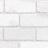 Arthouse Diamond White Brick Wallpaper - Product code: 902009