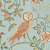Morris Newill Peppermint Russet Wallpaper - Product code: 216704