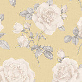 Albany Rosa Yellow Wallpaper - Product code: 9765