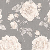 Albany Rosa Charcoal Wallpaper - Product code: 9767