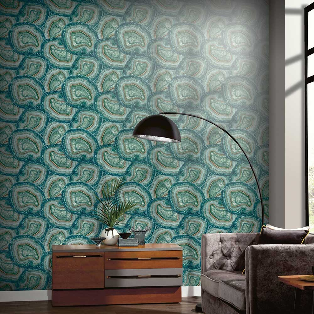 Arthouse Agate Jade Wallpaper - Product code: 903909