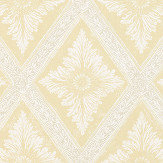 Sandberg Ludvig Yellow / Orange Wallpaper - Product code: 493-22