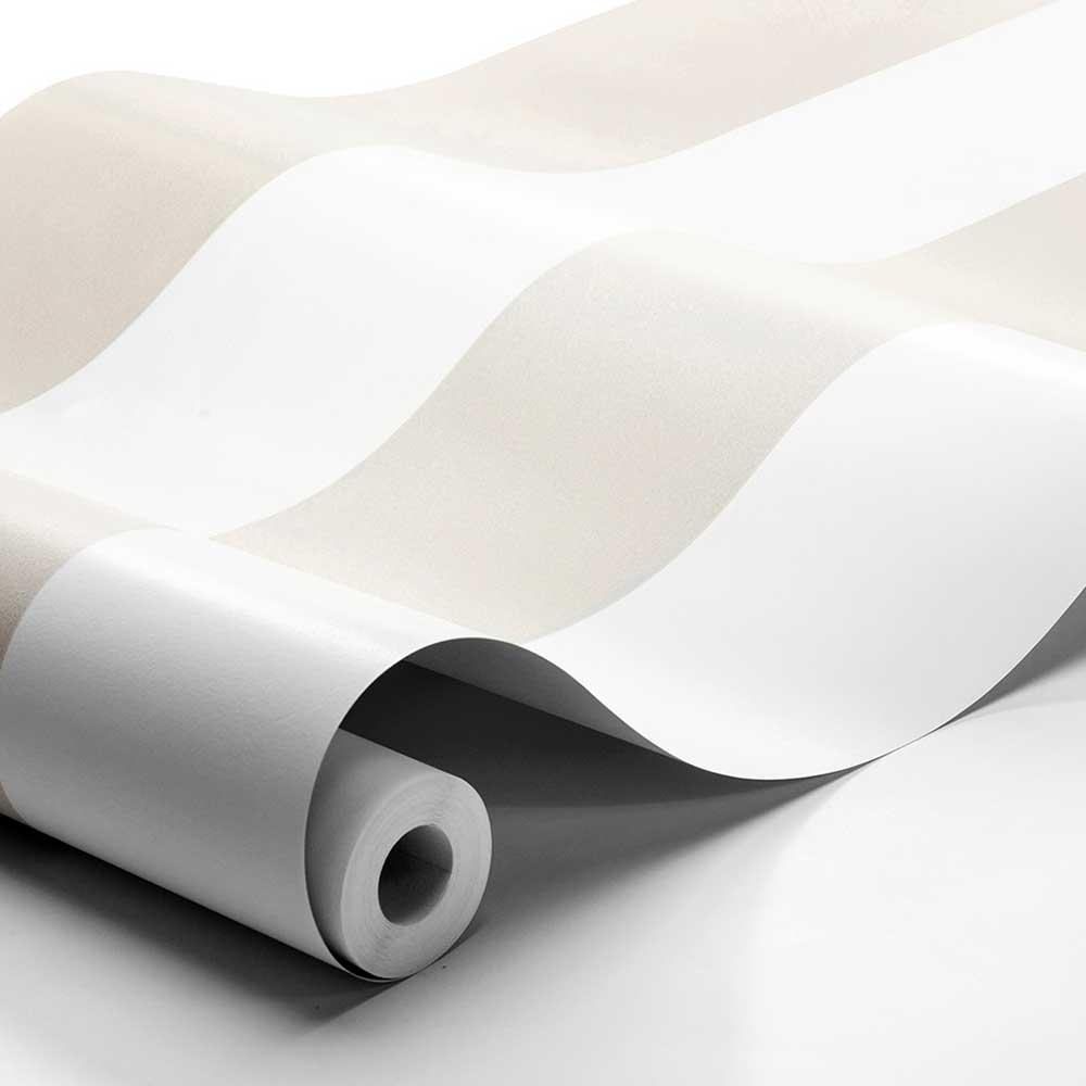Boråstapeter Orust Stripe Taupe Wallpaper - Product code: 8879