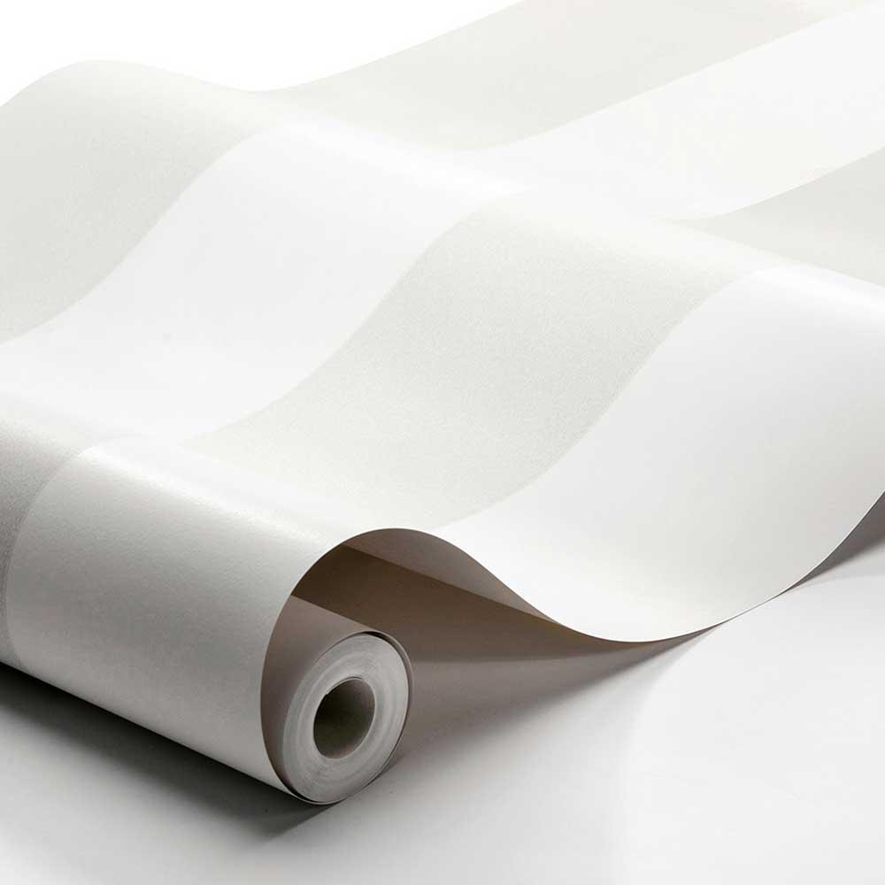 Boråstapeter Orust Stripe Light Grey Wallpaper - Product code: 8881