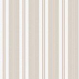 Boråstapeter Sandhamn Stripe Pink / Beige Wallpaper - Product code: 8884