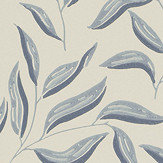 Sandberg Karolina Blue /Grey Wallpaper - Product code: 807-56