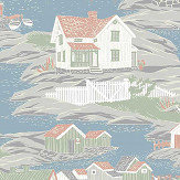 Boråstapeter Archiepelago Multi-coloured Wallpaper - Product code: 8850