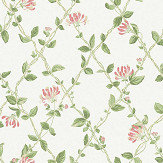 Boråstapeter Honeysuckle Green Wallpaper - Product code: 8852