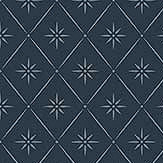 Boråstapeter Windrose Dark Blue Wallpaper - Product code: 8860