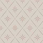 Boråstapeter Windrose Red / Beige Wallpaper - Product code: 8861