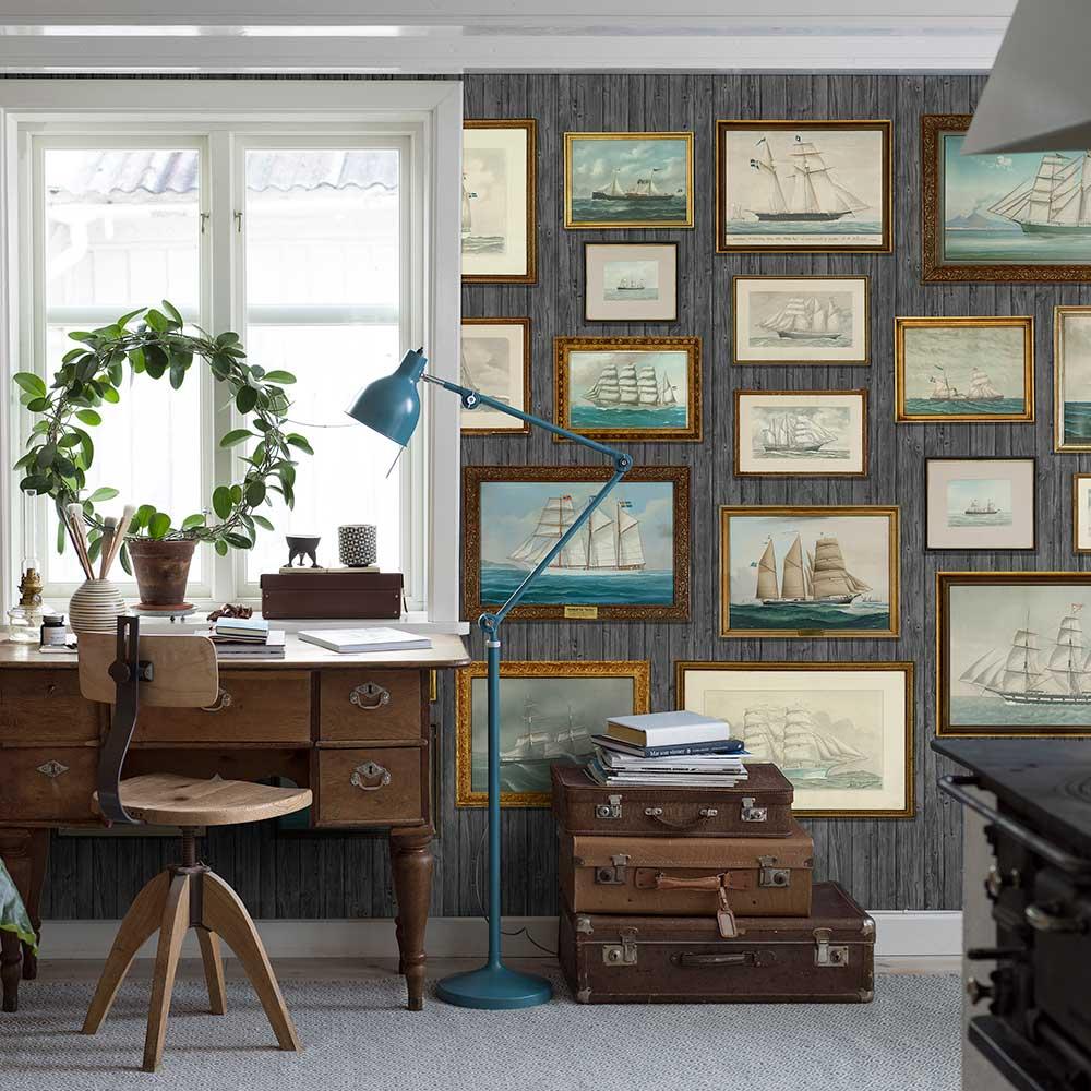 Horizon Mural - Multi-coloured - by Boråstapeter