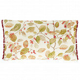Sanderson Woodland Berries Pom Pom Cushion Rosehip/ Moss - Product code: DCUB257025D