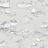 Arthouse Curlew Bay Grey Wallpaper - Product code: 905004