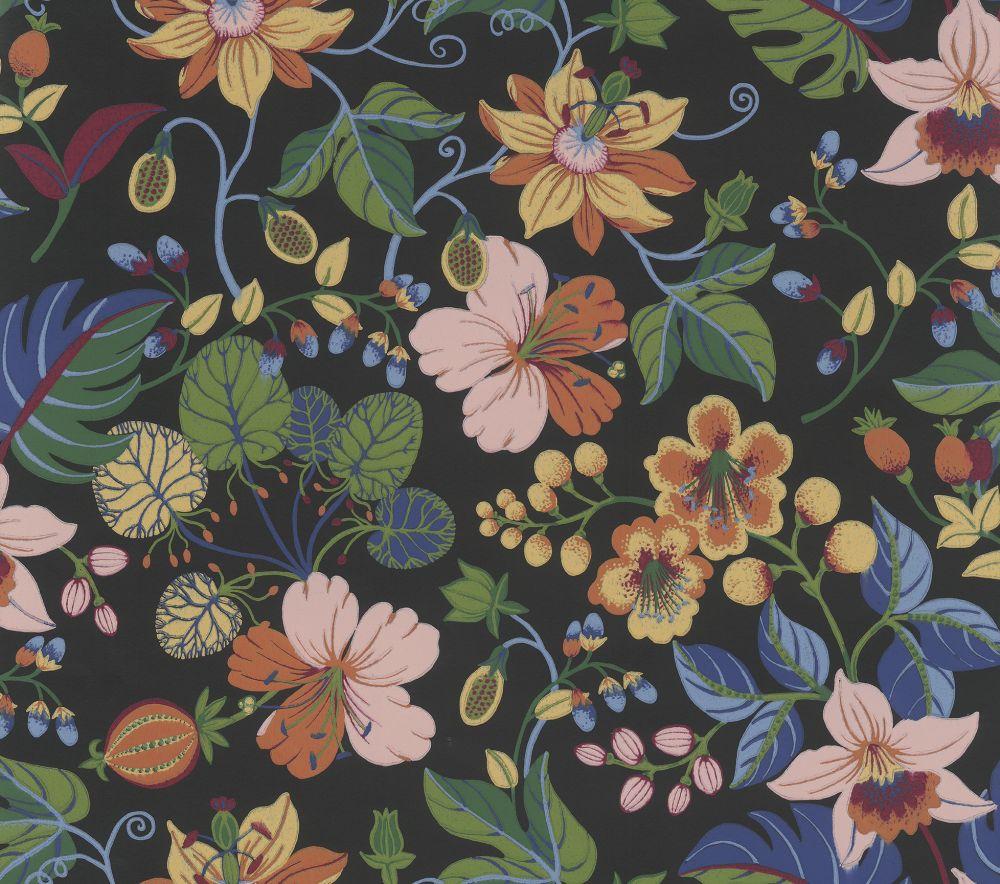 Eijffinger Carmen Trail Dark Blue Wallpaper - Product code: 392504
