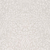 Eijffinger Swirling Leaves Linen Wallpaper - Product code: 392510
