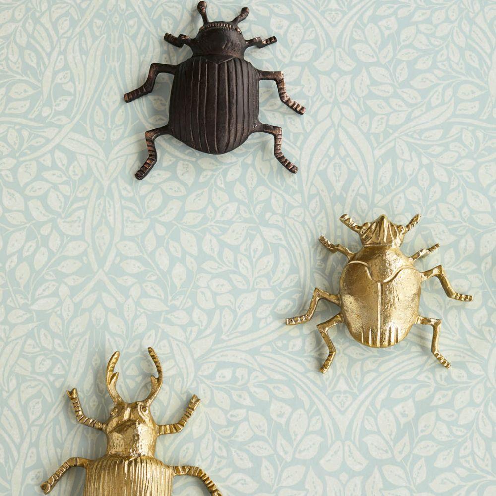 Eijffinger Swirling Leaves Pistachio Wallpaper - Product code: 392511