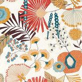 Harlequin Zavala Russett/ Navy/ Lagoon Fabric - Product code: 120809