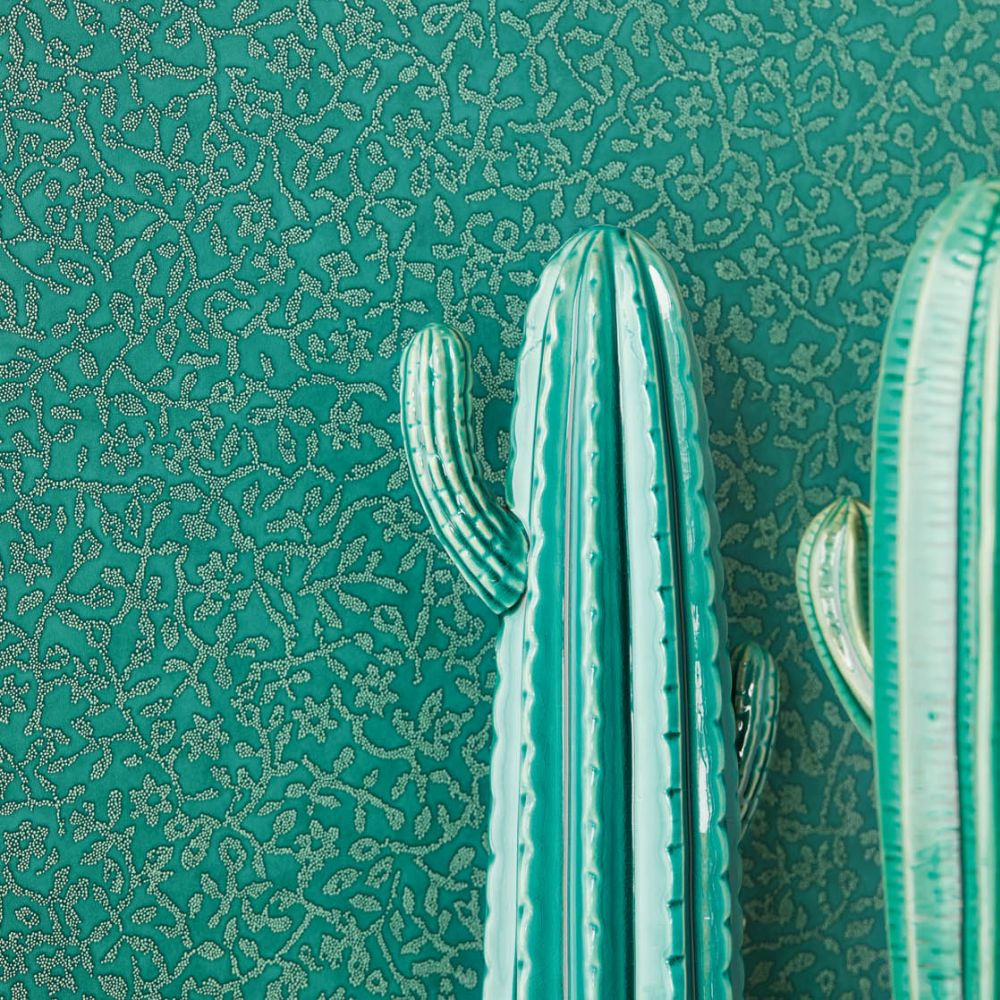 Eijffinger Coral Trail Green Wallpaper - Product code: 392542