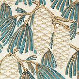 Harlequin Foxley Kingfisher Fabric - Product code: 120811