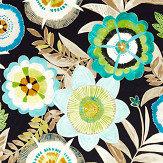 Harlequin Komovi Saffron/ Lagoon/ Citrus Fabric - Product code: 120815