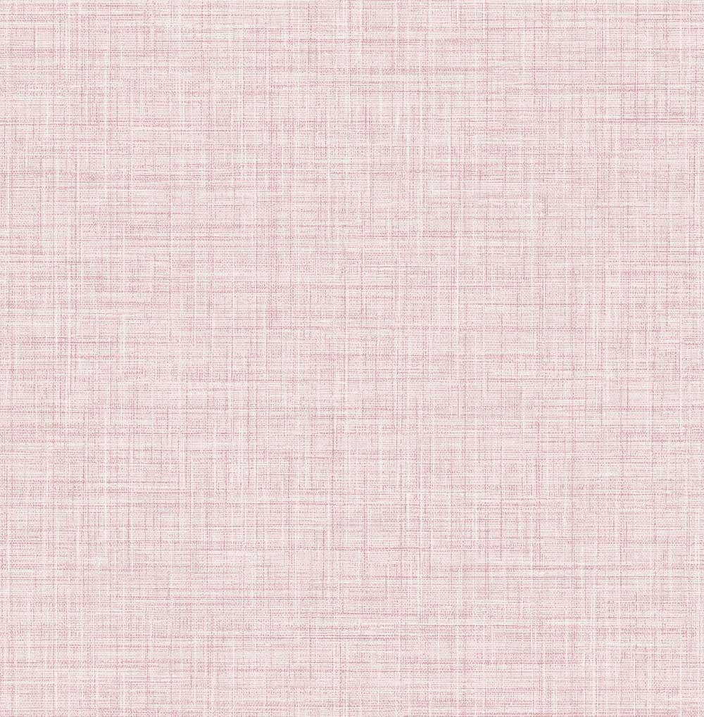 A Street Prints Linen Pink Wallpaper - Product code: FD24272