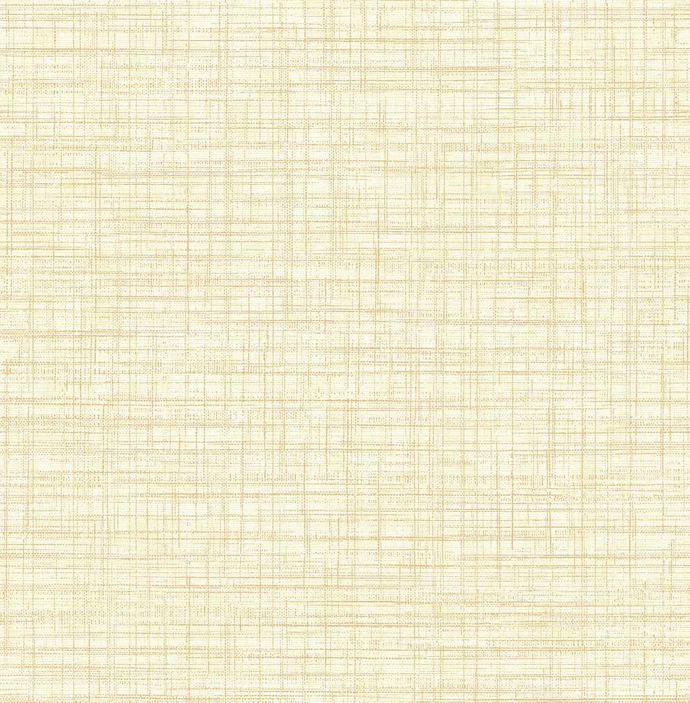 A Street Prints Linen Butter Wallpaper - Product code: FD24275