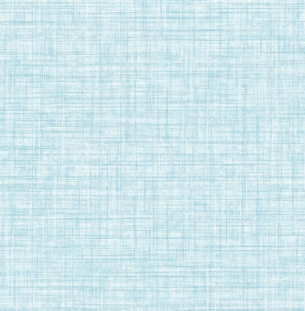 A Street Prints Linen Blue Wallpaper - Product code: FD24276