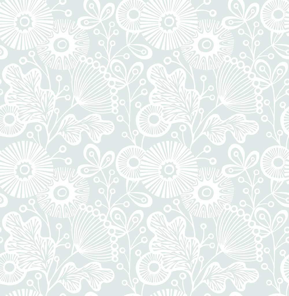 A Street Prints Ana Blue Wallpaper - Product code: FD25110