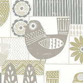 A Street Prints Hennika Grey / Beige Wallpaper - Product code: FD25116