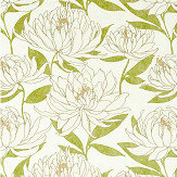 Harlequin Sebal Laurel/ Chalk Fabric - Product code: 120818