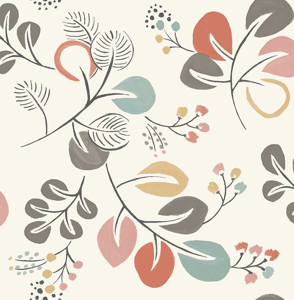 A Street Prints Jona Multi-coloured Wallpaper - Product code: FD25122
