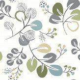 A Street Prints Jona Blue / Green Wallpaper - Product code: FD25123