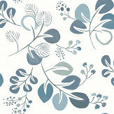 A Street Prints Jona Blue Wallpaper - Product code: FD25124