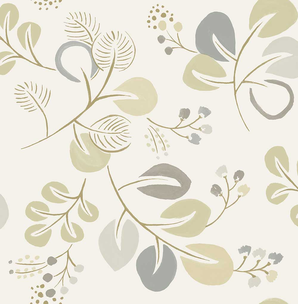 A Street Prints Jona Grey / Beige Wallpaper - Product code: FD25126